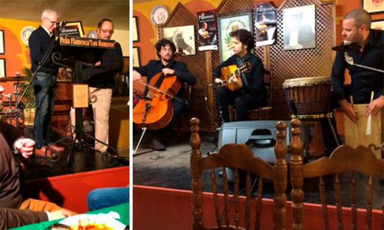 Acto en Homenaje al maestro Paco de Lucia en el VII Seminario de Estudios Flamencos