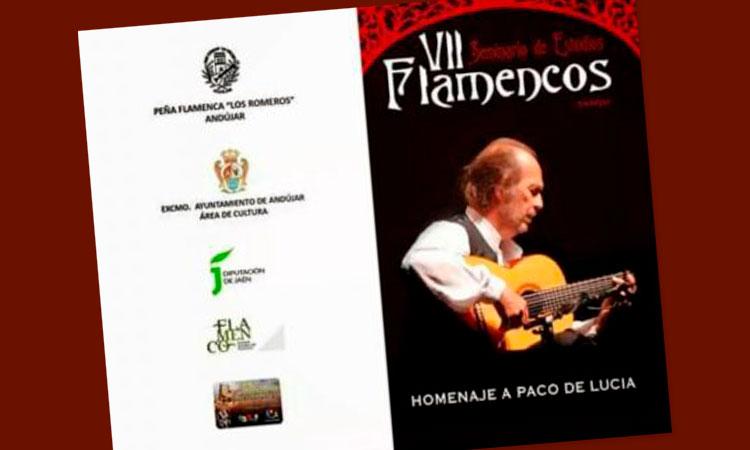 VII Seminario de Estudios Flamencos. Homenaje a Paco de Lucía